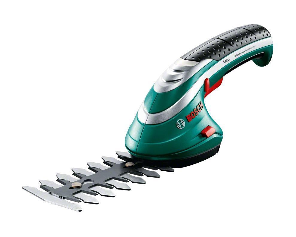 Подробнее о Аккумуляторные ножницы для травы Bosch ISIO 3 + насадка распылитель 060083310G кусторез ножницы для травы bosch isio [060083310g]