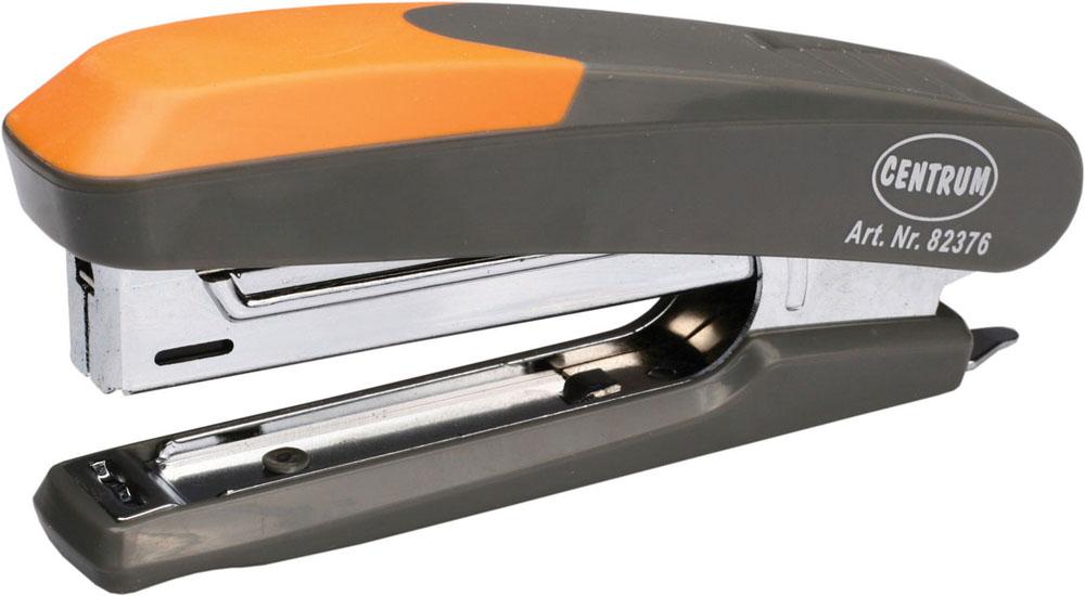 Centrum Степлер Ergonomic Line для скоб №1082376Удобный и практичный степлер Centrum - незаменимый офисный инструмент. Он выполнен из пластика с металлическим механизмом. Степлеру подходят скобы № 10; он способен прошить до 12 листов бумаги. Степлер Centrum гарантирует стабильную и качественную работу в течение долгого времени.