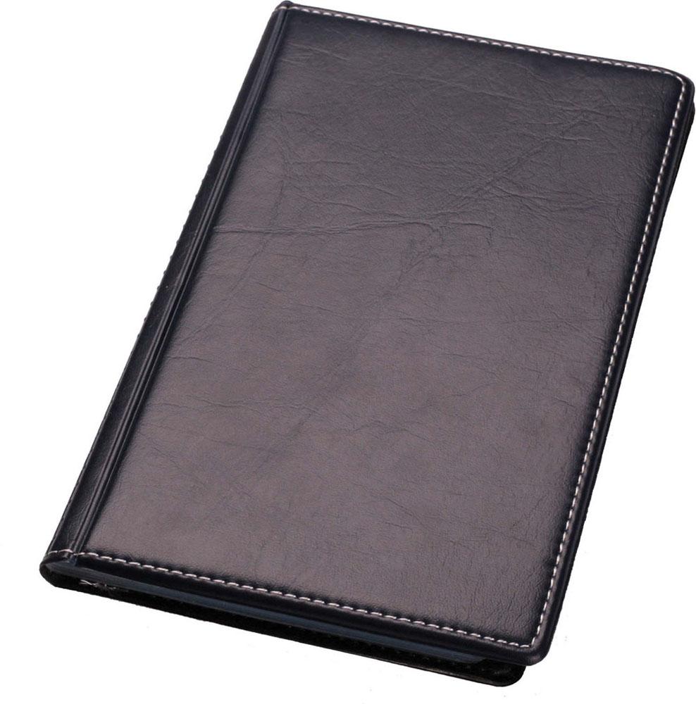 Визитница Centrum, на 120 визиток, цвет: черный. 83229PP-001Визитница Centrum станет великолепным подарком для любого современного делового человека, ценящего стиль и качество. Визитница предназначена для хранения и транспортировки именных и банковских карт, визиток а также мелких документов.Обложка визитницы покрыта высококачественной искусственной кожей. Внутри располагается трехрядный пластиковый блок на 120 визиток.Благодаря своему дизайну, визитница прекрасно впишется в интерьер любого офиса или дома. Она надежно сохранит ваши карты и сбережет их от повреждений, пыли и влаги.
