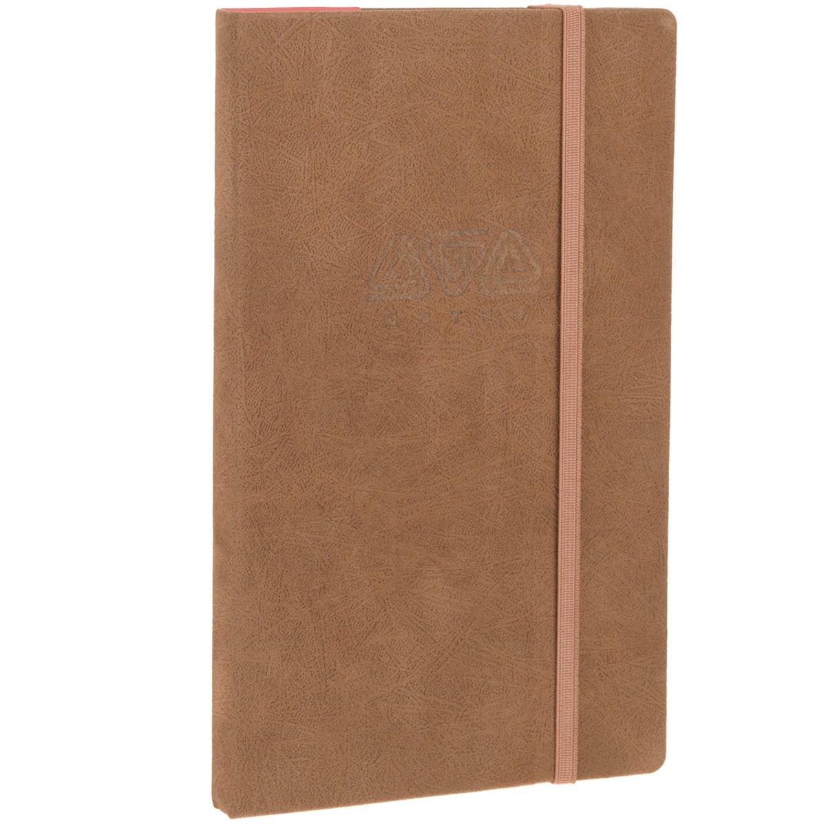Записная книжка Erich Krause Ethnic, цвет: коричневый, 96 листов36784Записная книжка Erich Krause Ethnic - это дополнительный штрих к вашему имиджу. Демократичная в своем содержании, книжка может быть использована не только для личных пометок и записей, но и как недатированный ежедневник. Надежная твердая обложка из плотного картона, обтянутого приятным на ощупь текстильным материалом, сохранит ее в аккуратном состоянии на протяжении всего времени использования. Плотная в линейку бумага белого цвета, закладка-ляссе, практичные скругленные углы, эластичная петелька для ручки и внутренний бумажный карман на задней обложке - все это обеспечит вам истинное удовольствие от письма. В начале книжки имеется страничка для заполнения личных данных владельца, четыре страницы для заполнения адресов, телефонов и интернет-почты и четыре страницы для заполнения сайтов и ссылок. Благодаря небольшому формату книжку легко взять с собой. Записная книжка плотно закрывается при помощи фиксирующей резинки.