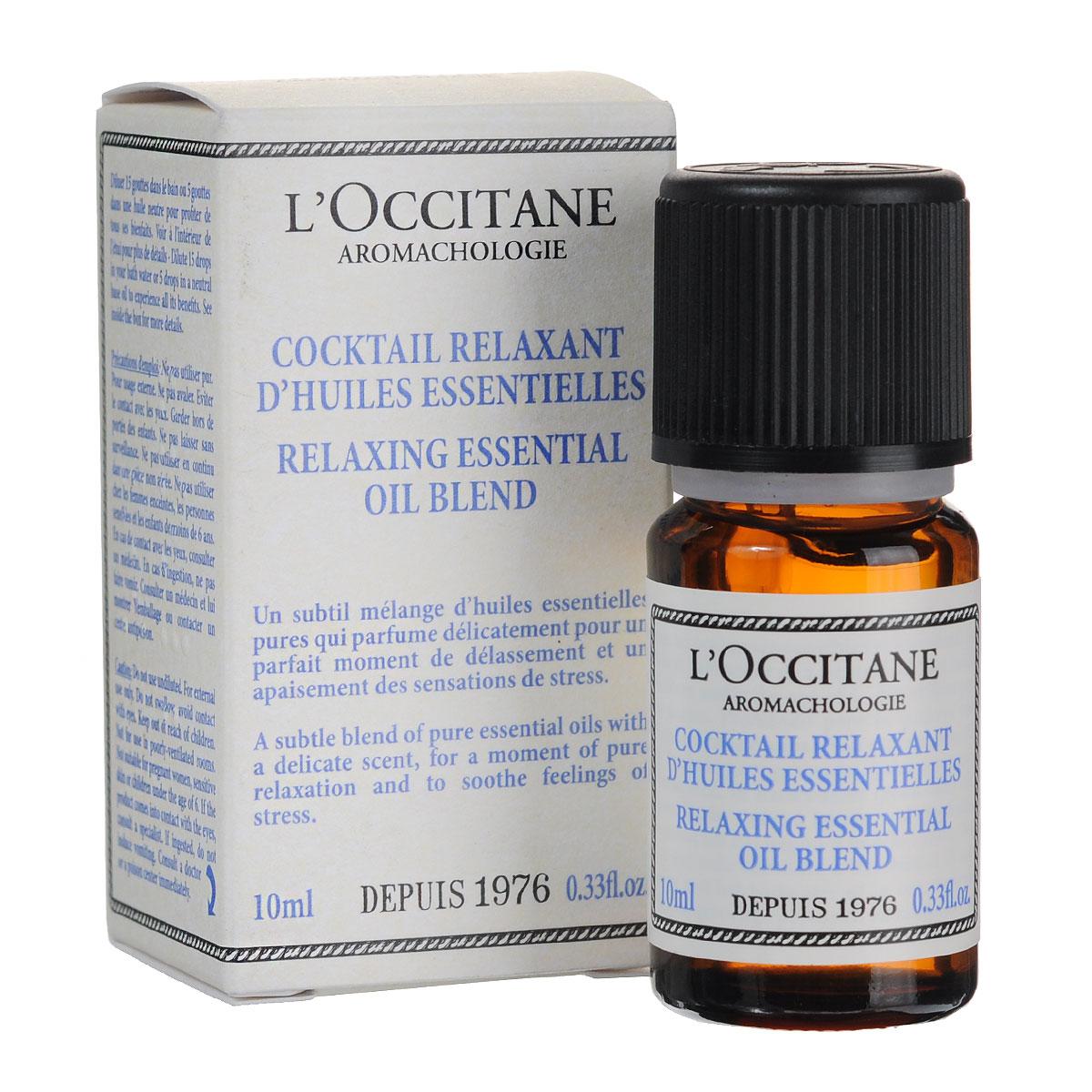 LOccitane Эфирное масло Аромакология, расслабляющее, 10 мл307038Расслабляющая смесь чистых эфирных масел помогает снять напряжение и избавиться от стресса. Товар сертифицирован.