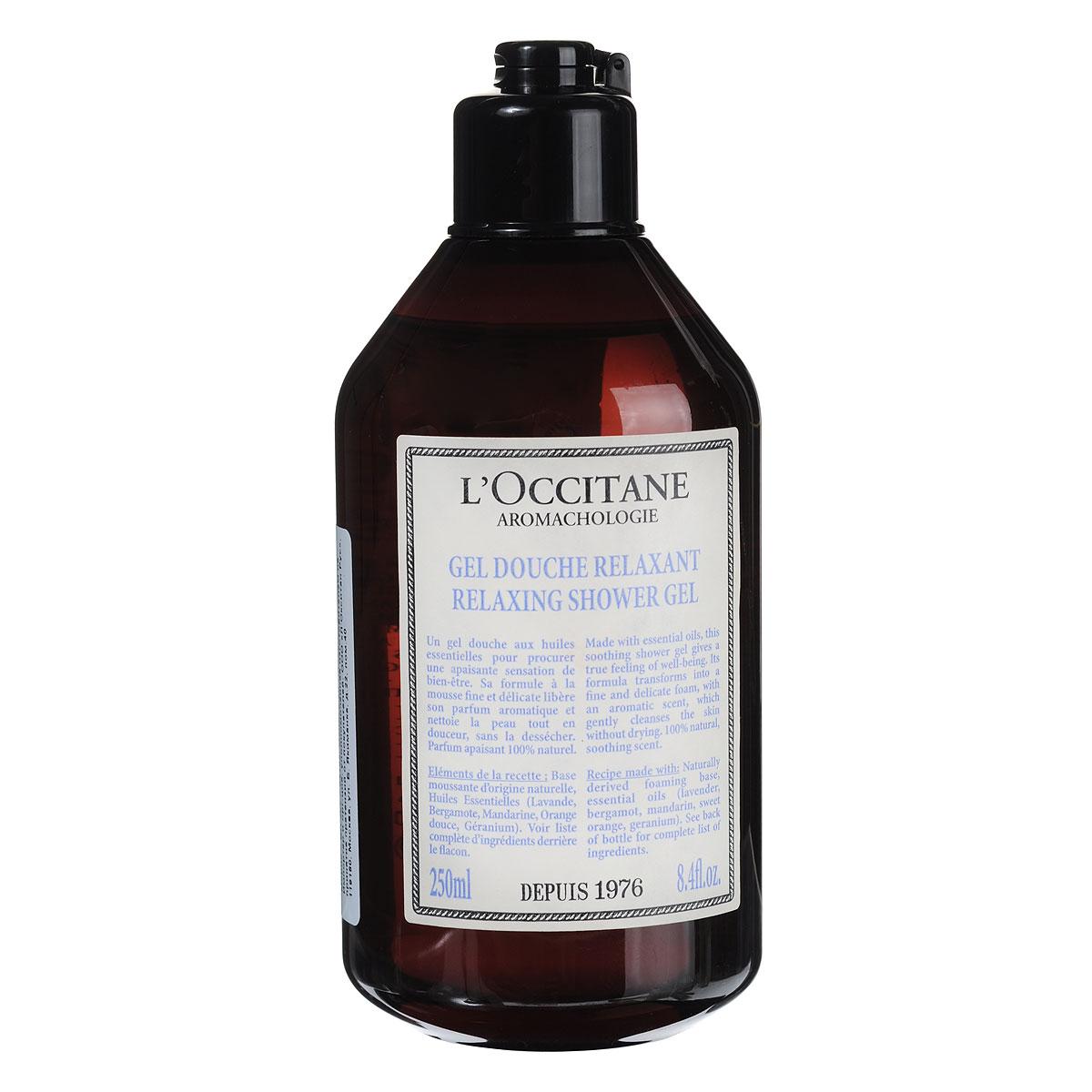 LOccitane Гель для ванн и душа Аромакология, расслабляющий, 250 мл311622Этот успокаивающий гель для душа дарит отличное самочувствие и настроение. Формула без сульфатов мягко очищает кожу, а натуральный аромат помогает полностью расслабиться. Товар сертифицирован.