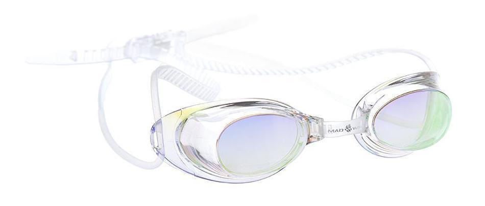 """Очки для плавания MadWave """"Liquid Racing"""", цвет: прозрачный"""