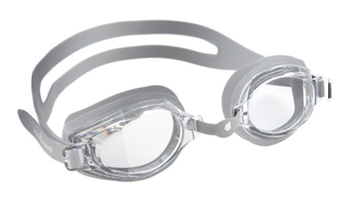 Очки для плавания MadWave Stalker, цвет: серебристый527Очки MadWave Stalker предназначены для повседневных тренировок с расширенными возможностями переферического зрения. Антизапотевающие стёкла с защитой от ультрафиолетовых лучей. Линзы из поликарбоната. Регулируемая многоступенчатая переносица. Силиконовый обтюратор и раздвоенный ремешок. В комплекте удобный чехол. Характеристики:Цвет: серебристый. Материал: поликарбонат, силикон. Размер наглазника: 6,5 см х 4,3 см. Изготовитель: Китай. Размер упаковки: 18 см х 6 см х 4 см.