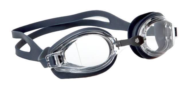 """Очки для плавания MadWave """"Stalker Junior"""", цвет: черный"""