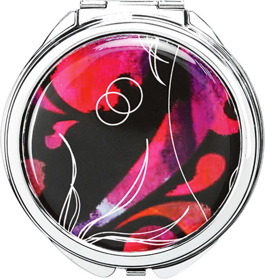 UBU Компактное двойное зеркало. 19-500910-1254 серый,красныйКомпактное двойное зеркало UBU изготовлено из металла и стекла. Изделие имеет двукратное увеличение одной из сторон. Ультратонкий стильный дизайн и стойкая к царапинам поверхность привлечет любую девушку. Товар сертифицирован.