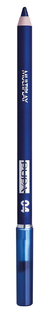 PUPA Карандаш для век с аппликатором Multiplay Eye Pencil, тон 04 изумительный синий , 1.2 г244004Pupa Multiplay - карандаш для глаз 3 в 1. Сочетает в себе эффект карандаша для глаз для интенсивного цвета, эффект подводки и эффект теней для век. В состав карандаша входит масло жожоба, витамин Е и масло семени хлопчатника для защитного и успокоительного эффекта. Исключительная кремообразная текстура и латексный аппликатор обеспечивают легкое и безупречное нанесение. Характеристики: Вес: 1,2 г. Тон: №04. Производитель: Италия. Товар сертифицирован. Pupa - итальянский бренд, принадлежащий компании Micys. Компания была основана в 1970-х годах в Милане и стала любимым детищем семьи Гатти. Pupa - это декоративная косметика для тех, кто готов экспериментировать, создавать новые образы и менять свой стиль в поисках новых проявлений своей индивидуальности. Яркие цвета Pupa воплощают в себе особенное видение красоты как многогранного сочетания чувственности и эпатажа, нежности и дерзости,...