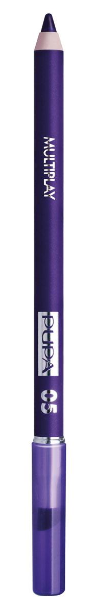 PUPA Карандаш для век с аппликатором Multiplay Eye Pencil, тон 05 насыщенный фиолетовый , 1.2 г244005Pupa Multiplay - карандаш для глаз 3 в 1. Сочетает в себе эффект карандаша для глаз для интенсивного цвета, эффект подводки и эффект теней для век. В состав карандаша входит масло жожоба, витамин Е и масло семени хлопчатника для защитного и успокоительного эффекта. Исключительная кремообразная текстура и латексный аппликатор обеспечивают легкое и безупречное нанесение. Характеристики: Вес: 1,2 г. Тон: №05. Производитель: Италия. Товар сертифицирован. Pupa - итальянский бренд, принадлежащий компании Micys. Компания была основана в 1970-х годах в Милане и стала любимым детищем семьи Гатти. Pupa - это декоративная косметика для тех, кто готов экспериментировать, создавать новые образы и менять свой стиль в поисках новых проявлений своей индивидуальности. Яркие цвета Pupa воплощают в себе особенное видение красоты как многогранного сочетания чувственности и эпатажа, нежности и дерзости,...