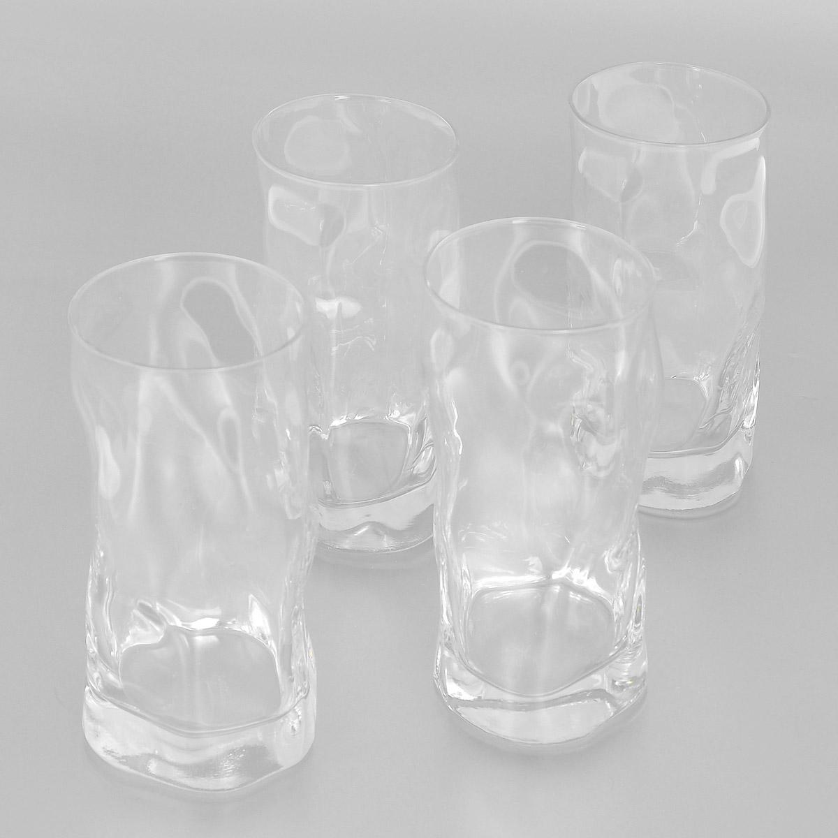 Набор стаканов Bormioli Rocco Sorgente, 460 мл, 4 шт340360G10021990Набор Bormioli Rocco Sorgente, выполненный из стекла, состоит из 4 высоких стаканов. Стаканы предназначены для подачи холодных напитков. Изделия имеют оригинальный дизайн, который поможет украсить любой праздничный стол. Благодаря такому набору пить напитки будет еще вкуснее. Стаканы Bormioli Rocco Sorgente станут отличным подарком к любому празднику. С 1825 года компания Bormioli Rocco производит высококачественную посуду из стекла. На сегодняшний день это мировой лидер на рынке производства стеклянных изделий. Ассортимент, предлагаемый Bormioli Rocco необычайно широк - это бокалы, фужеры, рюмки, графины, кувшины, банки для сыпучих продуктов и консервирования, тарелки, салатники, чашки, контейнеры различных емкостей, предназначенные для хранения продуктов в холодильниках и морозильных камерах и т.д. Стекло сочетает в себе передовые технологии и традиционно высокое качество.