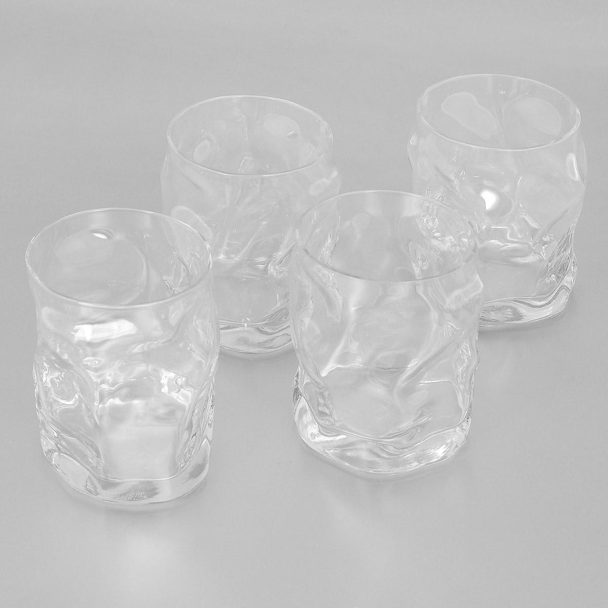 Набор стаканов Bormioli Rocco Sorgente, 420 мл, 4 шт340350G10021990Набор Bormioli Rocco Sorgente, выполненный из стекла, состоит из 4 низких стаканов. Стаканы предназначены для подачи холодных напитков. Изделия имеют оригинальный дизайн, который поможет украсить любой праздничный стол. Благодаря такому набору пить напитки будет еще вкуснее. Стаканы Bormioli Rocco Sorgente станут отличным подарком к любому празднику. С 1825 года компания Bormioli Rocco производит высококачественную посуду из стекла. На сегодняшний день это мировой лидер на рынке производства стеклянных изделий. Ассортимент, предлагаемый Bormioli Rocco необычайно широк - это бокалы, фужеры, рюмки, графины, кувшины, банки для сыпучих продуктов и консервирования, тарелки, салатники, чашки, контейнеры различных емкостей, предназначенные для хранения продуктов в холодильниках и морозильных камерах и т.д. Стекло сочетает в себе передовые технологии и традиционно высокое качество.