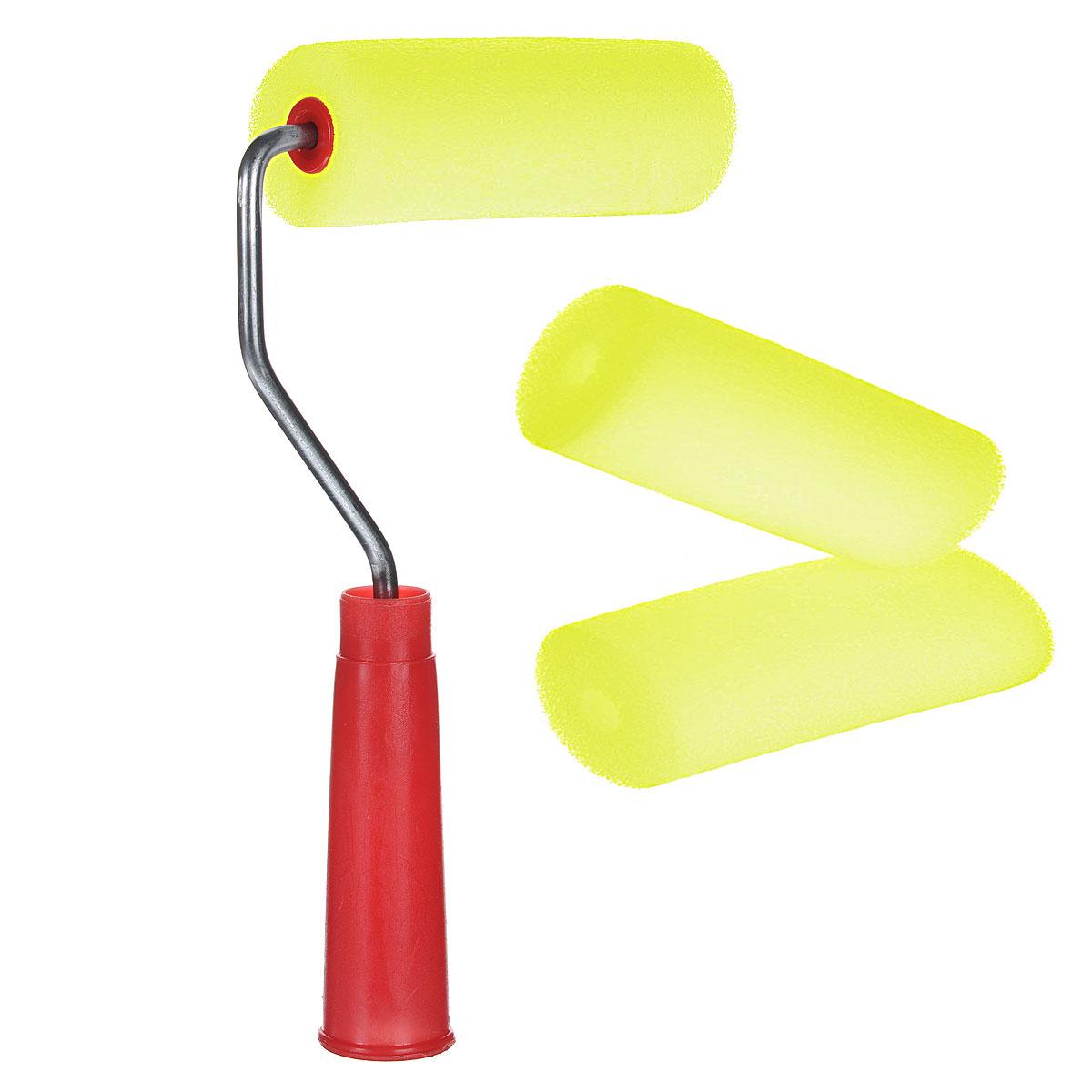 Валик малярный Радуга, 100 мм х 42 мм80445Малярный валик Радуга применяется для работы на гладких поверхностях. Используется с лакокрасочными материалами на водной и алкидной основах и масляными красками. В комплекте 2 запасных ролика. Длина ролика: 10 см. Диаметр ролика: 4,2 см.