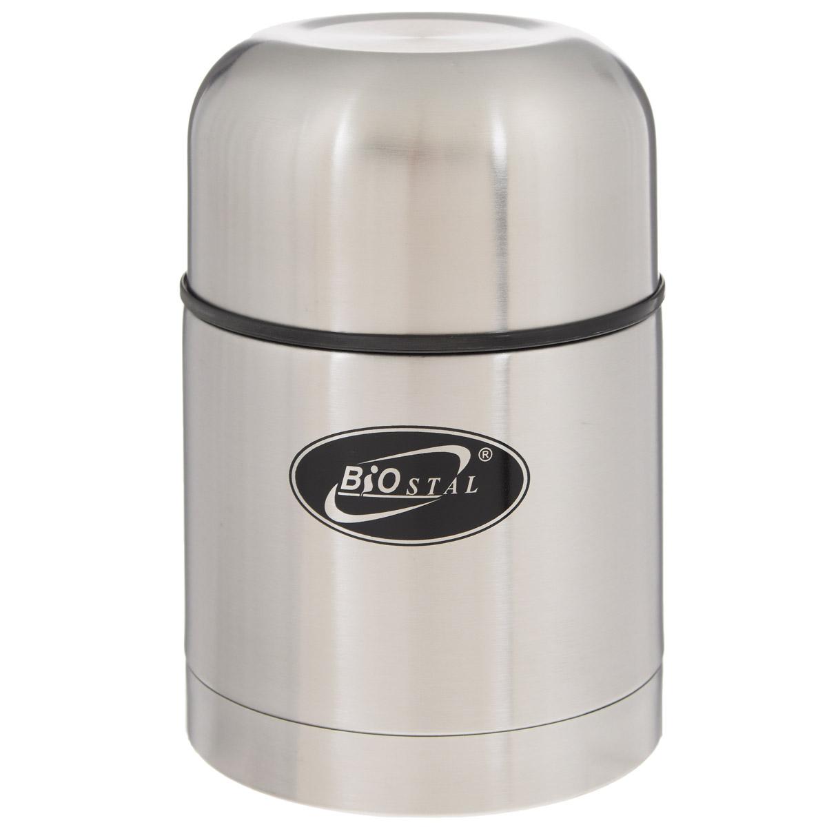 Термос BIOSTAL, в чехле, 500 мл. NT-500NT-500Пищевой термос с широким горлом BIOSTAL, изготовленный из высококачественной нержавеющей стали, относится к классической серии. Термосы этой серии, являющейся лидером продаж, просты в использовании, экономичны и многофункциональны. Термос с широким горлом предназначен для хранения горячей и холодной пищи, замороженных продуктов, мороженного, фруктов и льда и укомплектован пробкой с клапаном. Такая пробка обладает дополнительной теплоизоляцией и позволяет термосу дольше хранить тепло, а клапан облегчает его открытие. Изделие также оснащено крышкой-чашкой и текстильным чехлом для хранения и переноски термоса. Легкий и прочный термос BIOSTAL сохранит ваши напитки горячими или холодными надолго.