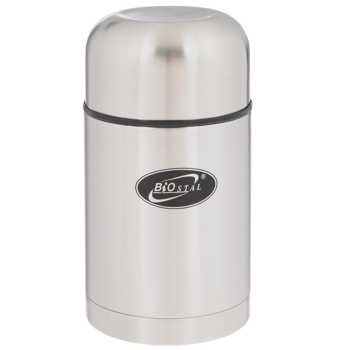 Термос BIOSTAL, в чехле, 750 мл. NT-750NT-750Пищевой термос с широким горлом BIOSTAL, изготовленный из высококачественной нержавеющей стали, относится к классической серии. Термосы этой серии, являющейся лидером продаж, просты в использовании, экономичны и многофункциональны. Термос с широким горлом предназначен для хранения горячей и холодной пищи, замороженных продуктов, мороженного, фруктов и льда и укомплектован пробкой с клапаном. Такая пробка обладает дополнительной теплоизоляцией и позволяет термосу дольше хранить тепло (до 24 часов), а клапан облегчает его открытие. Изделие также оснащено крышкой-чашкой и текстильным чехлом для хранения и переноски термоса. Легкий и прочный термос BIOSTAL сохранит ваши напитки горячими или холодными надолго. Высота (с учетом крышки): 19 см. Диаметр горлышка: 8 см.