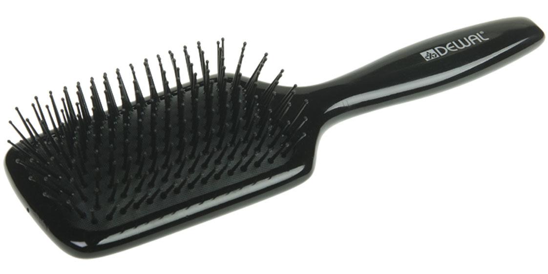 Dewal Расческа массажная Black, с пластиковыми зубцами. BRWT61BRWT61В ассортименте торговой марки Dewal (Деваль) имеются расчески на все случаи жизни, с помощью которых можно выполнять стрижки, укладки, модельные причёски и другие манипуляции с волосами. Вообще расческа для волос считается для парикмахера самым простым, но при этом незаменимым инструментом. Массажная щетка с пластиковыми штифтами идеальна для расчесывания любых волос и массажа кожи головы. Продуманная конструкция, эргономичный дизайн обеспечивают комфортную работу парикмахера. Расчёски с лёгкостью скользят по волосам, удобно ложатся в руку. Товар сертифицирован.