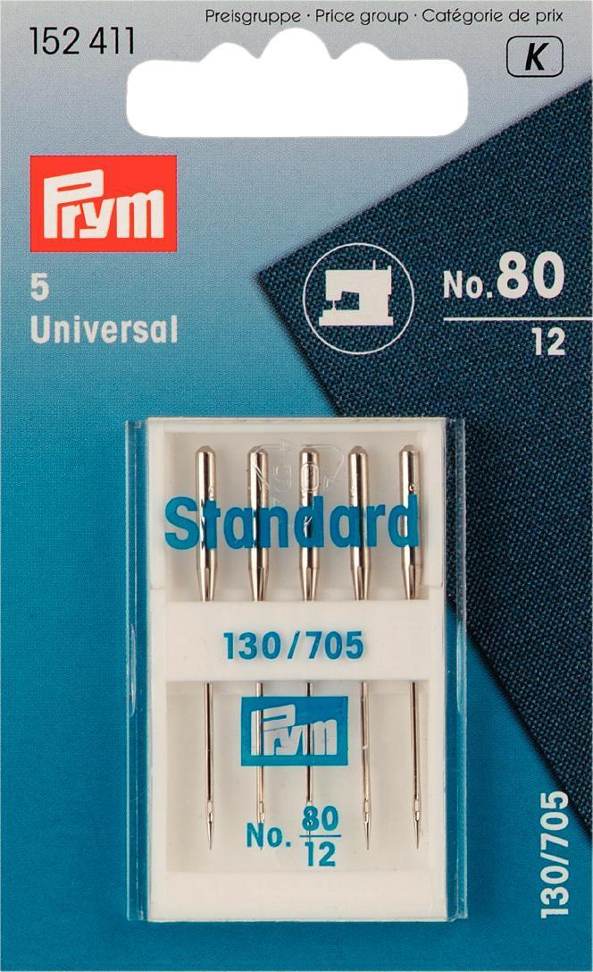 Иглы для швейных машин Prym, с плоской колбой, №80, 5 шт152411Иглы для швейных машин Prym изготовлены из стали высокого качества. Предназначены для швейных машинок. Имеют плоскую колбу. В пенале. Материал: сталь. Комплектация: 5 шт. Длина игл: 3,8 см. Размер игл: №80.