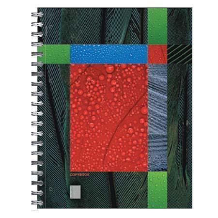 Полиграфика Тетрадь А4 120л Eco-Texture, жесткий ламинат (глянцевый)33Обложка:картон жесткий ламинированный 170 г/м2. Блок: бумага офсетная 60 г/м2