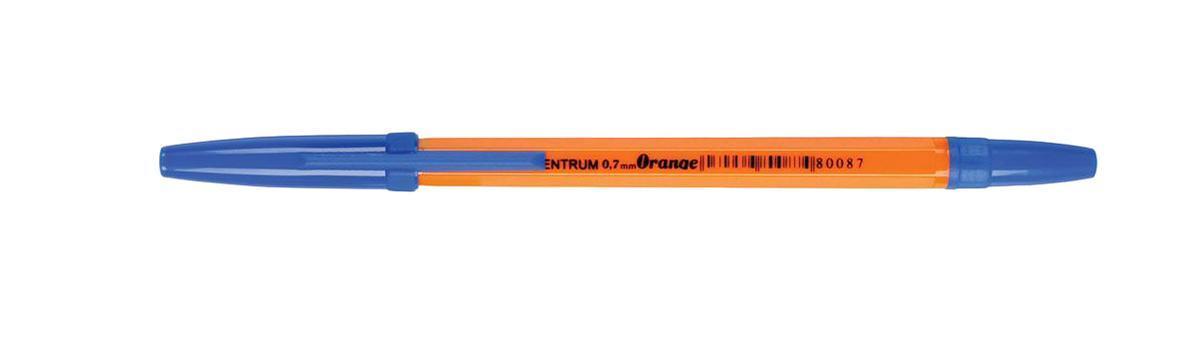 80087 Ручка ORANNGE синяя Centrum, 0,7 мм 50 шт.80087