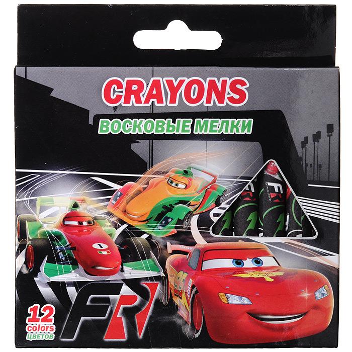 Восковые мелки Cars, 12 цветовCRBB-US1-2012BВосковые мелки Cars откроют юным художникам новые горизонты для творчества, а также помогут развить мелкую моторику рук, цветовое восприятие, фантазию и воображение. Самозатачивающиеся мелки предназначены для рисования на картоне и бумаге и созданы специально для детских ручек. Мягкие, они не требуют сильного нажима. Мелки можно стирать как карандаш ластиком. В набор входят восковые мелки 12 ярких насыщенных цветов, обернутых в бумажную гильзу, что позволит сохранить руки ребенка чистыми.