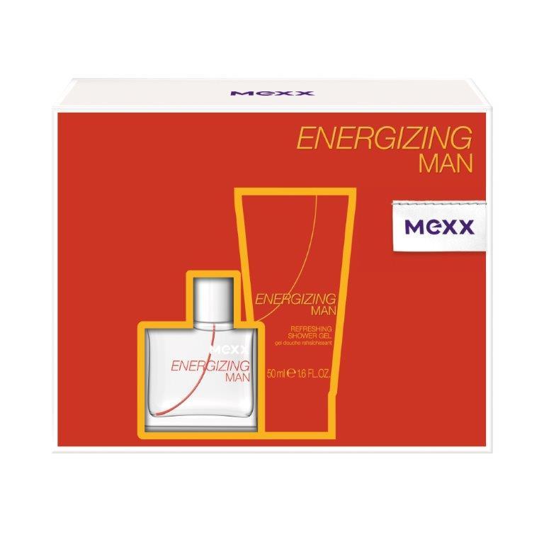 Mexx Подарочный набор Energizing Man, мужской: туалетная вода, гель для душа0737052881867Подарочный набор Mexx состоит из туалетной воды Energizing Man и парфюмерного геля для душа с одноименным ароматом. Предметы набора упакованы в подарочную коробку. Mexx Energizing Man - это квинтэссенция свежести и удивительных оттенков, которые поддерживают в тебе заряд бодрости в течение всего дня. Существует множество способов «подзарядить батарейки» в течение твоего обычного дня: поболтать с друзьями, посмеяться, послушать музыку, заняться спортом или - подзарядить батарейки с Mexx Energizing Man! Свежесть апельсина и экзотических фруктов, придает энергию! Новый день - новый старт. Наслаждайся началом своего дня вместе с Mexx Energizing. Mexx Energizing для него и для нее - это свежие, ароматы которые приятно носить на коже и которые придают тебе легкость и помогают наслаждаться каждым днем! Классификация аромата : древесный, фужерный. Пирамида аромата : Верхние ноты: апельсин, водяные ноты,...