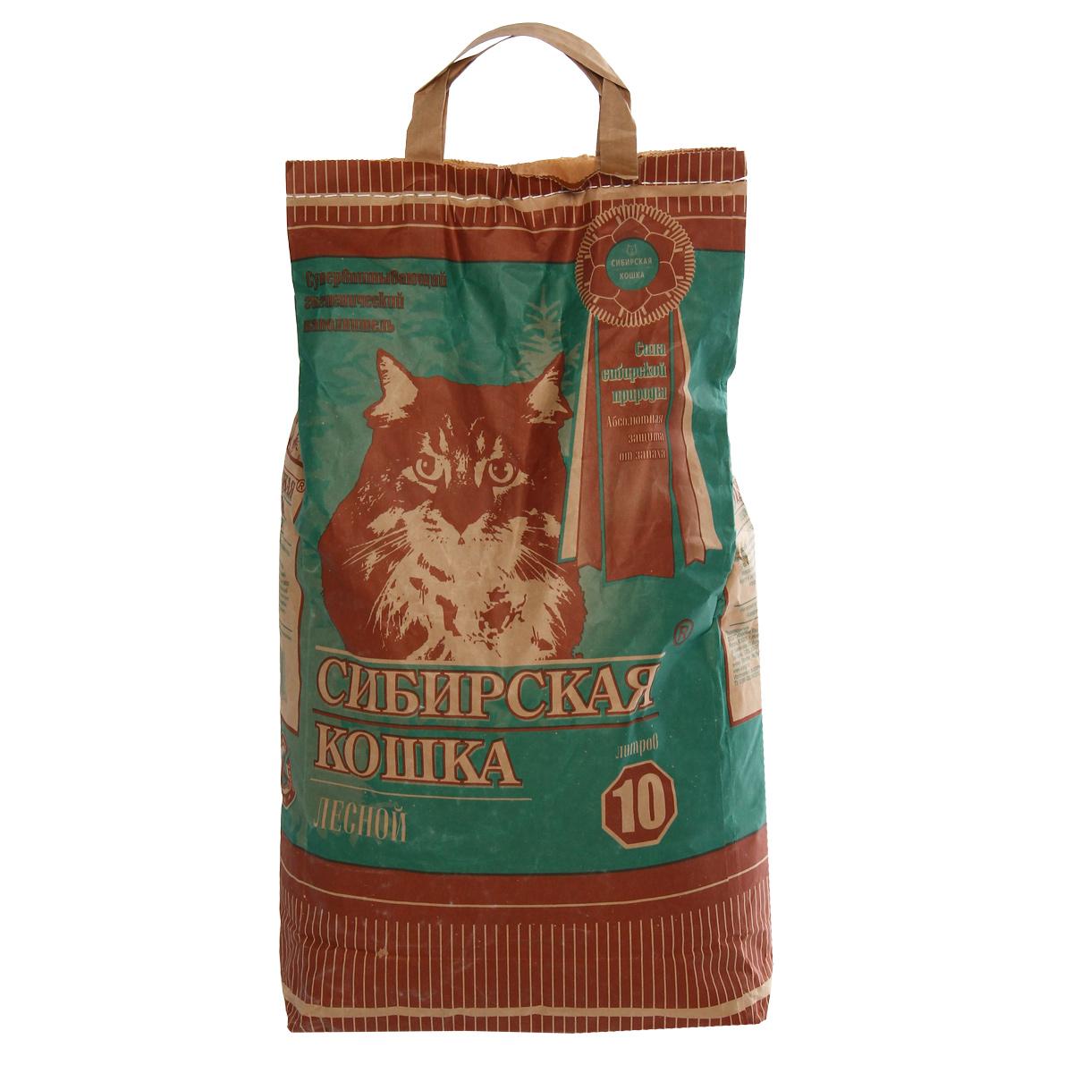 Наполнитель для кошачьих туалетов Сибирская Кошка Лесной, древесный, 10 л0120710Экологически чистый супервпитывающий наполнитель для кошачьих туалетовСибирская Кошка Лесной производится из древесины хвойных пород вотсутствии каких-либо присадок. Его действие базируется на естественных свойстваххвойных деревьев, поглощать влагу и запахи. Впитываемоcть составляет 260-320%, что в 3раза превосходит характеристики обычных наполнителей. Дезинфицирующиекачества наполнителя содействуют уничтожению болезнетворных микробов.Обладает природным естественным запахом хвои.Наполнитель возможно использовать также как подстилку в клетках для кроликов, морских свинок, крыс и хомяков.Состав: древесина хвойных пород.Объем: 10 л.Товар сертифицирован.