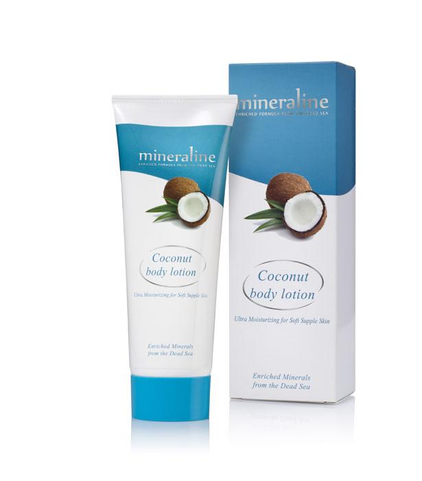 Mineraline Лосьон для тела, с экстрактом кокоса, 250 млБ63003 мятаЛосьон для тела Mineraline питает и успокаивает кожу вашего тела, обеспечивая высокую степень свежести и здоровья, а также обладает успокаивающим эффектом. Его активные компоненты легко проникают в кожу, даря вам ощущение нежности и комфорта. Используйте его на ежедневной основе в соответствии с вашими потребностями. Товар сертифицирован.