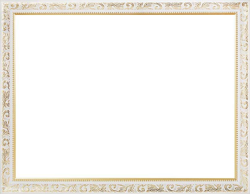 Багетная рама Empire, цвет: белый, золотистый, 30 см х 40 см. 1535-BL1535-BL Empire (белый)Багетная рама Empire изготовлена из пластика. Багетные рамы предназначены для оформления картин, вышивок и фотографий. Оформленное изделие всегда становится более выразительным и гармоничным. Подбор багета для картин очень важен - от этого зависит, какое значение будет иметь выполненная работа в вашем интерьере. Если вы используете раму для оформления живописи на холсте, следует учесть, что толщина подрамника больше толщины рамы и сзади будет выступать, рекомендуется дополнительно зафиксировать картину клеем, лист-заглушку в этом случае не вставляют. В комплекте - крепежные элементы, с помощью которых изделие можно подвесить на стену.