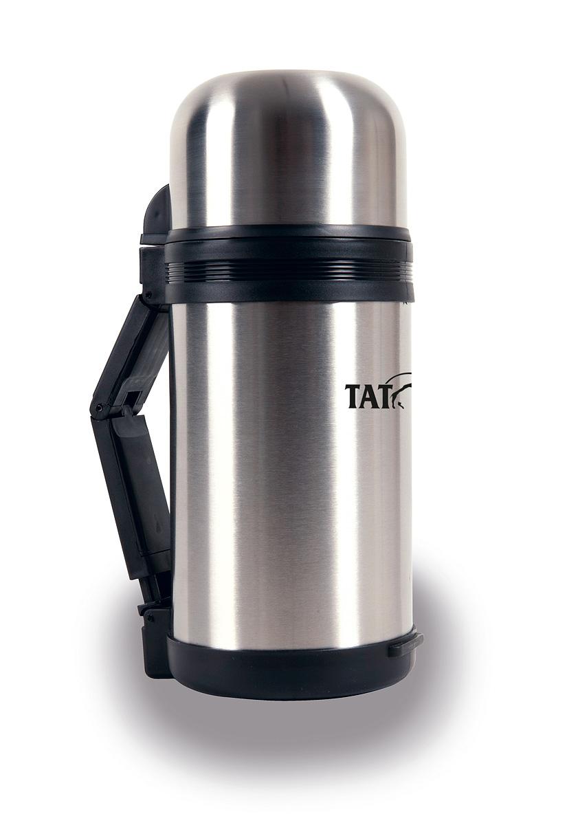 Термос Tatonka Hot & Cold Stuff, 1,2 л4165.000Отличный походный термос Hot & Cold Stuff от фирмы Tatonka. Термос такого объема отлично подходит даже для большой семьи. Он надолго сохранит горячими ваши любимые блюда и напитки. Термос можно использовать не только для горячих и холодных жидкостей, но и для любой еды. Благодаря широкому горлышку его удобно мыть и сушить. В комплекте ремешок для переноски. Диаметр термоса: 11,5 см. Высота термоса: 27,6 см.