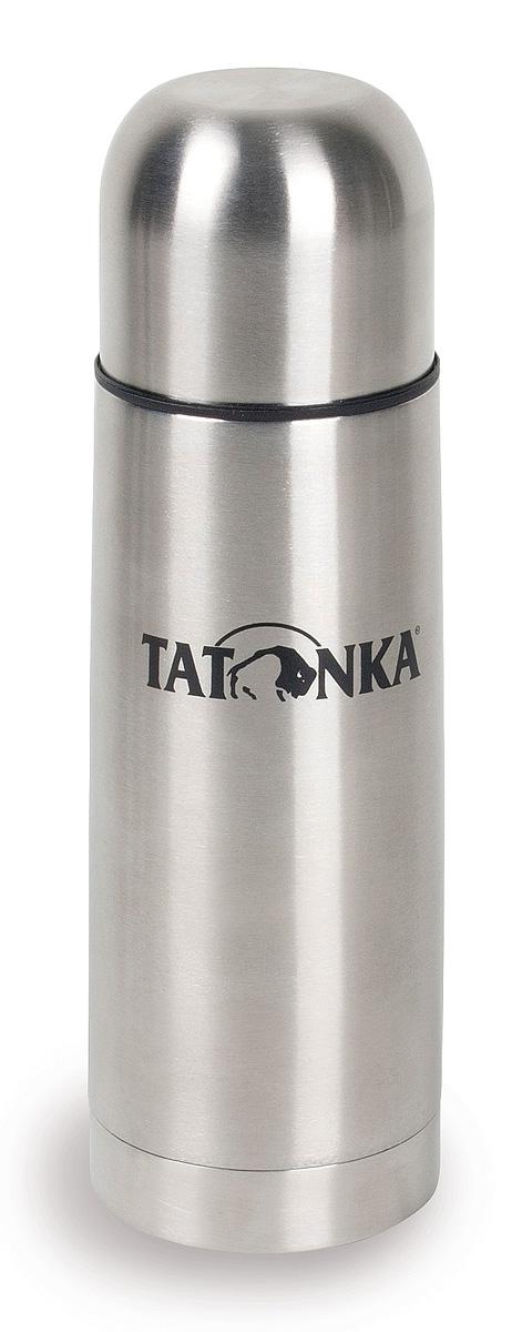 Термос Tatonka Hot & Cold Stuff, 1 лАМNB-503Термос из нержавеющей стали Tatonka Hot & Cold Stuff. Горячее останется горячим, а холодное - холодным, достаточно долгое время. У термоса практичная винтовая пробка, открутив которую на полтора оборота, можно наливать напиток, не вынимая пробку из термоса. Крышка термоса может использоваться как удобный термостакан.Диаметр термоса: 9,1 см.Высота термоса: 30 см.Тепло: при заливании жидкости 95°С, через 6 часов 78°С, через 24 часа 52°С.Холод: при заливании жидкости 4°С, через 6 часов 4°С, через 24 часа 10°.