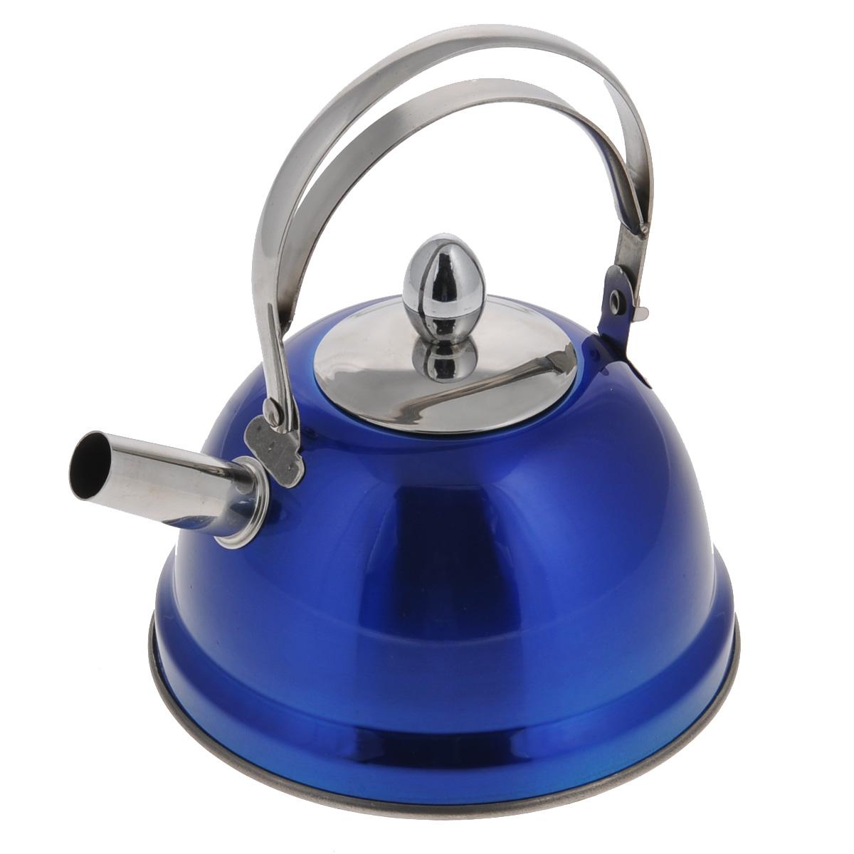 Чайник заварочный Bekker De Luxe, с ситечком, цвет: синий, 0,8 л. BK-S430VT-1520(SR)Чайник Bekker De Luxe выполнен из высококачественной нержавеющей стали, что обеспечивает долговечность использования. Внешнее цветное зеркальное покрытие придает приятный внешний вид. Капсулированное дно распределяет тепло по всей поверхности, что позволяет чайнику быстро закипать. Эргономичная подвижная ручка выполнена из нержавеющей стали. Чайник снабжен ситечком для заваривания. Можно мыть в посудомоечной машине. Пригоден для всех видов плит, включая индукционные. Диаметр (по верхнему краю): 5 см.Высота чайника (без учета крышки и ручки): 8 см.Высота чайника (с учетом крышки): 17,5 см.Диаметр основания: 14 см. Толщина стенки: 0,5 мм.Высота ситечка: 5,5 см.