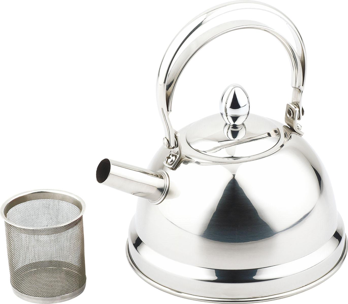 Чайник Bekker De Luxe, с ситечком, 0,8 л. BK-S441BK-S441Чайник Bekker De Luxe выполнен из высококачественной нержавеющей стали, что обеспечивает долговечность использования. Внешнее зеркальное покрытие придает приятный внешний вид. Капсулированное дно распределяет тепло по всей поверхности, что позволяет чайнику быстро закипать. Эргономичная подвижная ручка выполнена из нержавеющей стали. Чайник снабжен ситечком для заваривания. Можно мыть в посудомоечной машине. Пригоден для всех видов плит, включая индукционные.