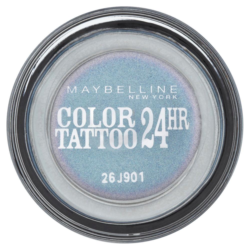 Maybelline New York Тени для век Color Tattoo 24 часа, оттенок 87, Загадочный сиреневый, 4 млB2267100Технология тату-пигментов создает яркий, супернасыщенный цвет. Крем-гелевая текстура обеспечивает ультралегкое нанесение и стойкость на 24 часа. 12 оттенков