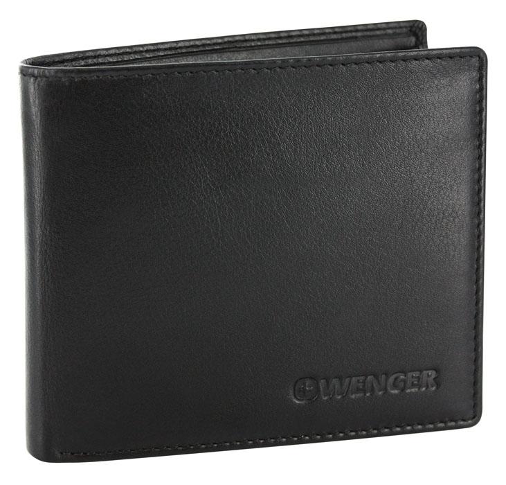 Портмоне мужское Wenger, цвет: черный. W2-13W2-13BLACKЛаконичное мужское портмоне Wenger изготовлено из натуральной кожи и оформлено тиснениями в виде названия и логотипа бренда на лицевой стороне. Внутри - два отделения для купюр, отсек для мелочи на замке-кнопке, два боковых кармана и четыре прорези для визиток и кредитных карт. Изюминка модели - перекидной блок с четырьмя прорезями и сетчатым карманом. Изделие упаковано в фирменную коробку. Модное портмоне Wenger придется по душе истинному ценителю прекрасного. По всем вопросам гарантийного и постгарантийного обслуживания рюкзаков, чемоданов, спортивных и кожаных сумок, а также портмоне марок Wenger и SwissGear вы можете обратиться в сервис-центр, расположенный по адресу: г. Москва, Саввинская набережная, д.3. Тел: (495) 788-39-96, (499) 248-56-56, ежедневно с 9:00 до 21:00. Подробные условия гарантийного обслуживания приведены в гарантийном талоне, поставляемым в комплекте с каждым изделием. Бесплатный ремонт изделий производится при условии...