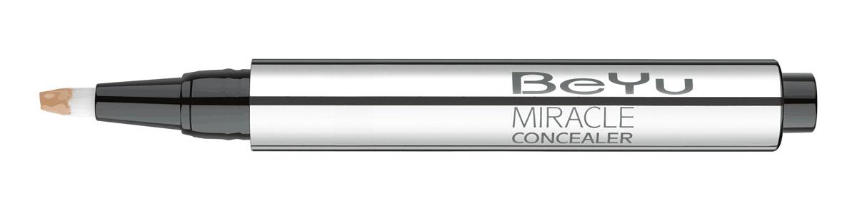 BeYu Консилер Hydro Miracle Concealer, увлажняющий, тон №6, 2,5 мл3873.6Увлажняющий консилер BeYu Hydro Miracle Concealer быстро и эффективно скрывает темные круги под глазами. Светоотражающие частицы скрывают морщинки и мелкие несовершенства кожи, создавая идеальный ровный тон. Инновационный состав увлажняет и защищает нежную кожу вокруг глаз. Благодаря аппликатору в форме кисти и легкой текстуре, консилер легко наносить на зону вокруг глаз и обеспечивает комфорт в течении всего дня. Научные тесты показали, что при ежедневном использовании (28 дней) повышается увлажненность кожи увеличивается на 37%, кожа становится более эластичной. Подходит для чувствительной кожи. Товар сертифицирован.