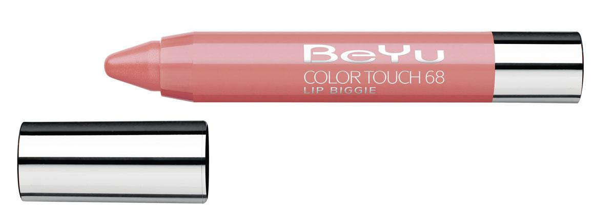 BeYu Блеск-бальзам для губ Color Touch Lip Biggie, тон №68, 2.8 г002722Блеск-бальзам для губ Color Touch Lip Biggie сочетает в себе помаду, блеск и бальзам для губ, который бережно ухаживает за кожей губ, придавая им нежное сияние.Блеск-бальзам для губ имеет выкручивающийся механизм.