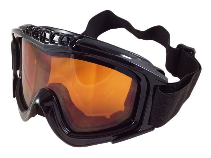 Очки горнолыжные Sky Monkey/Vcan, цвет: черный. VSE25_SR21 ORVSE25_SR21 ORСпортивные горнолыжные очки «Vcan» надежно защитят ваши глаза во время катания на лыжах или сноуборде. Двойные линзы выполнены из противоударного поликарбоната для лучшей защиты глаз. Отличительная особенность поликарбоната - самая высокая устойчивость к ударным нагрузкам. Очки с поликарбонатными линзами наиболее травмобезопасны. Оранжевые тонированные линзы обеспечивают 100% защиту от ультрафиолетовых лучей (UV400). Противотуманное покрытие на внутренней стороне линз предотвращает запотевание оптики. Характеристики Материал: поликарбонат, пластик. Размеры упаковки: 19,5х9,5х10,5 см.