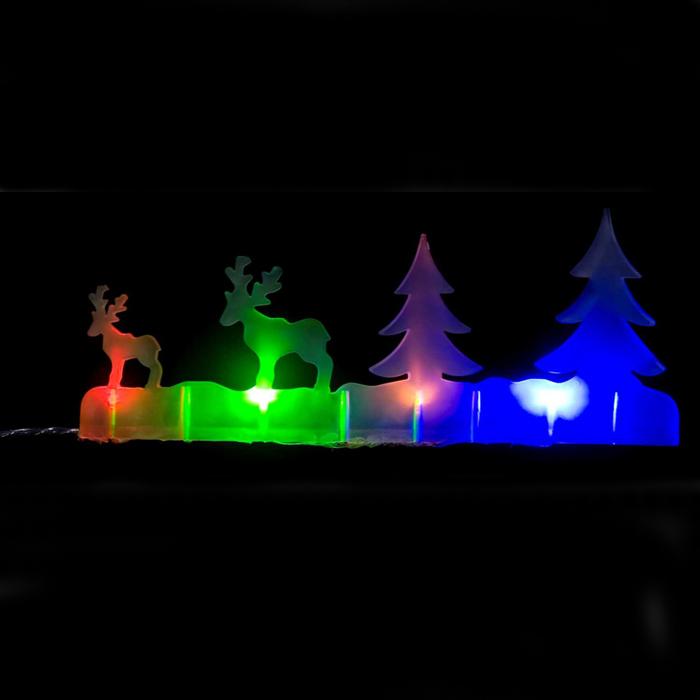 Новогодняя декоративная фигурка Lunten Ranta С наступающим, с подсветкой, 24,5 х 8,5 см24143 0Новогодняя декоративная фигурка Lunten Ranta С наступающим выполнена из высококачественного акрила. Особенностью данной фигурки является наличие светодиодного устройства, благодаря которому украшение светится. Светодиоды расположены внутри корпуса и при включении фигурка наполняется мягким светом. Такая оригинальная фигурка оформит интерьер вашего дома или офиса в преддверии Нового года. Оригинальный дизайн и красочное исполнение создадут праздничное настроение. Кроме того, это отличный вариант подарка для ваших близких и друзей. УВАЖАЕМЫЕ КЛИЕНТЫ!Фигурка работает от 3-х батареек типа АА, напряжением 1.5V. Батарейки не входят в комплект.