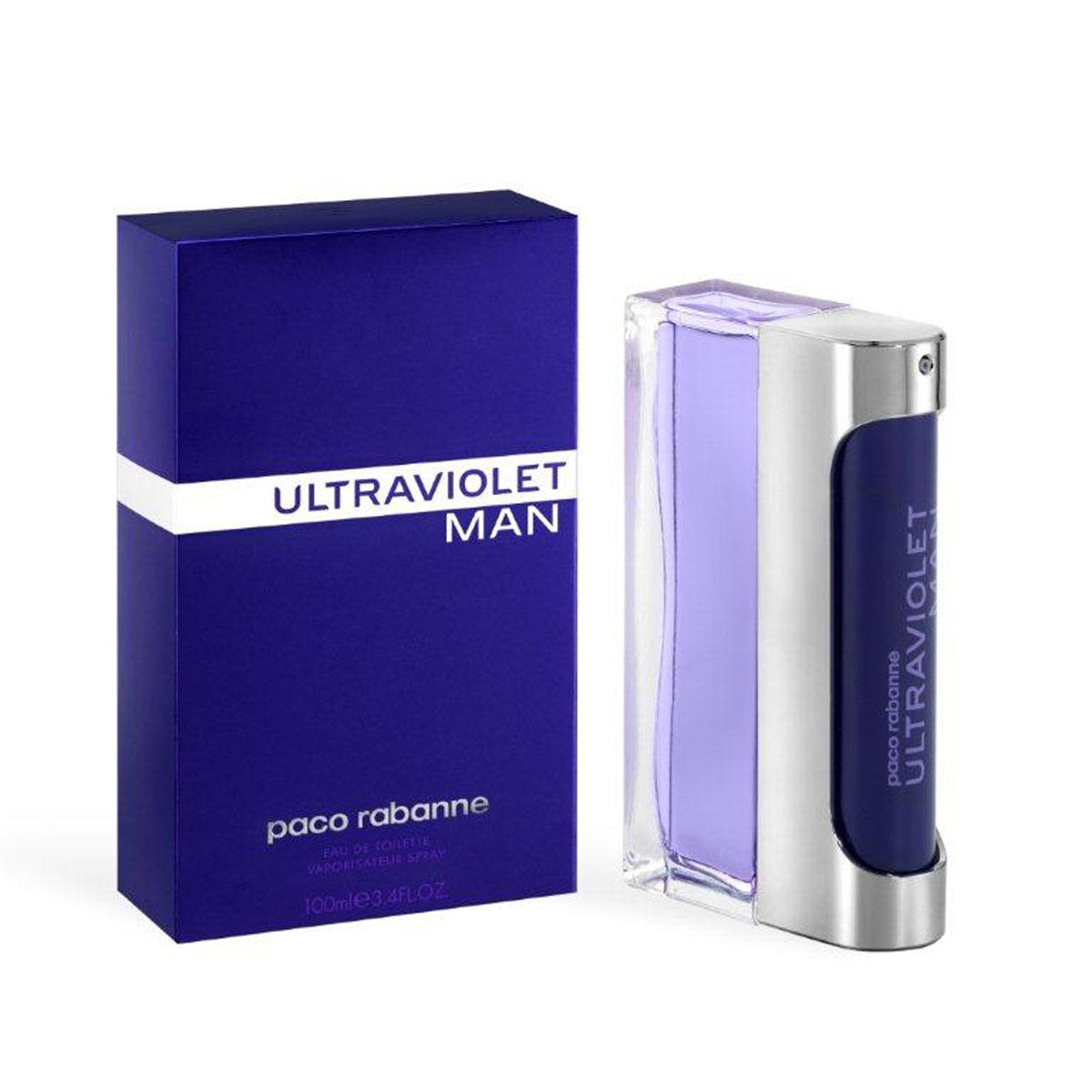 """Paco Rabanne Туалетная вода """"Ultraviolet Man"""", мужская, 100 мл 3349666010518"""