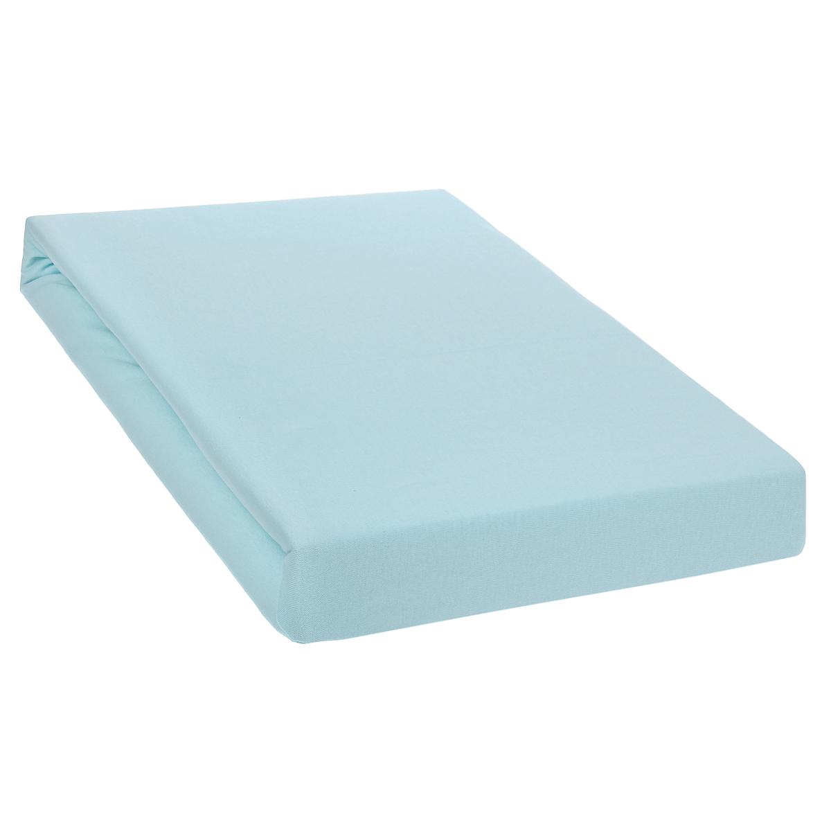 Простыня на резинке Tete-a-Tete, цвет: роса, 200 см х 200 смТ-ПР-3019Однотонная простыня на резинке Tete-a-Tete выполнена из натурального хлопка. Высочайшее качество материала гарантирует безопасность не только взрослых, но и самых маленьких членов семьи. Простыня гармонично впишется в интерьер вашего дома и создаст атмосферу уюта и комфорта. Особенности коллекции Tete-a-Tete: - выдерживает более 100 стирок практически без изменения внешнего вида, - модные цвета и стойкие оттенки, - минимальная усадка, - надежные резинки и износостойкая ткань, - безупречное качество, - гиппоаллергенно. Коллекция Tete-a-Tete специально создана для практичных людей, которые ценят качество и долговечность вещей, окружают своих близких теплотой и заботой.