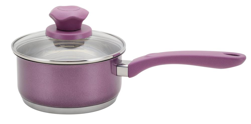 """Ковш Supra """"Vasei"""", с крышкой, цвет: фиолетовый, 1,5 л SVS-1694S"""