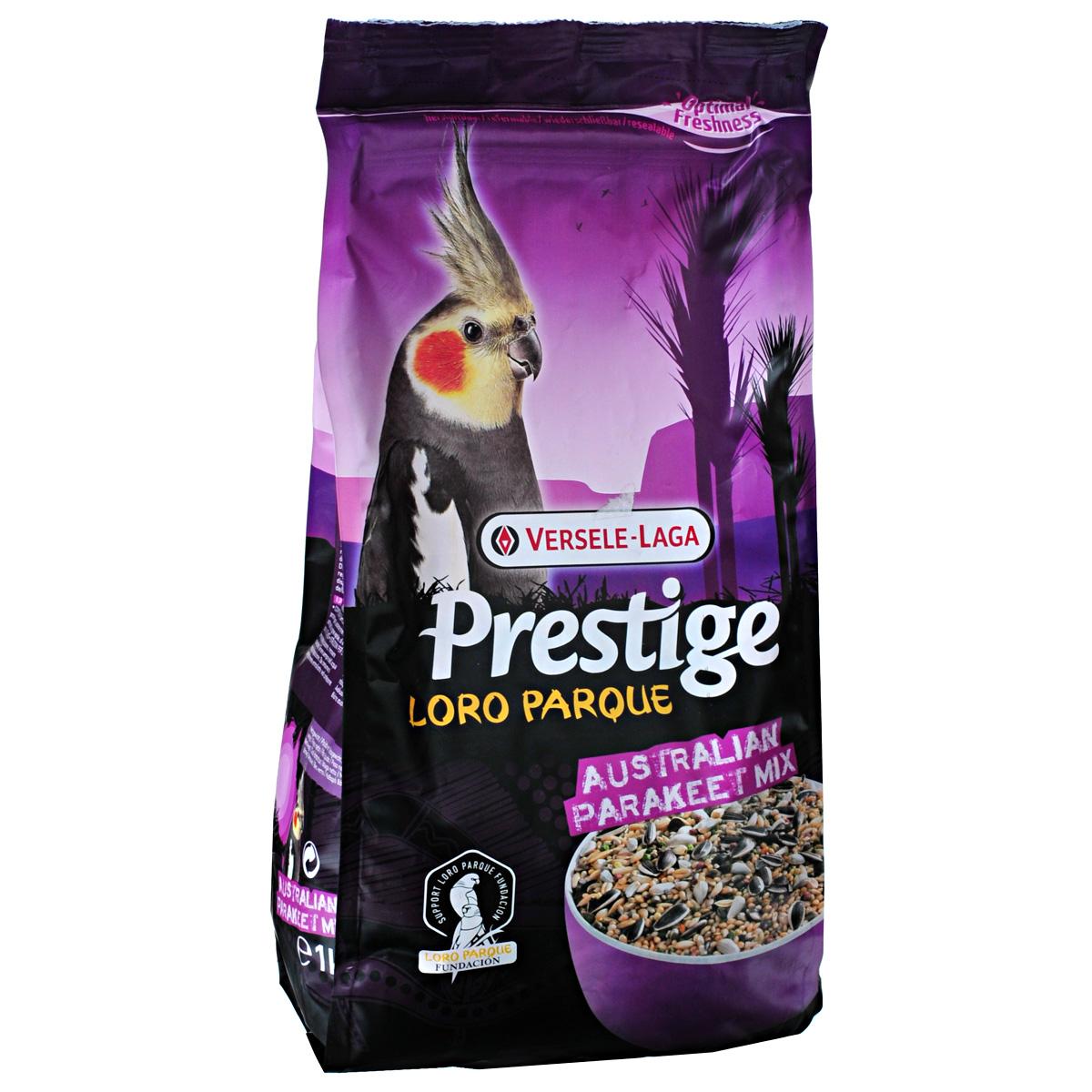 Корм для средних австралийских попугаев Versele-Laga Australian Parakeet, 1 кг421970Смесь для средних австралийских попугаев Versele-Laga Australian Parakeet изготавливается только из высококачественных семян, которыми данный вид птиц питается в природе. Данная смесь представляет собой полноценный корм, обогащенный гранулами ВАМ (витамины, аминокислоты и минералы) для поддержания превосходного здоровья попугаев. Данная адаптированная специально для австралийских средних попугаев смесь была разработана совместно с группой ученых из Лоро Парка (остров Тенерифе), где эта смесь успешно используется в качестве основного корма для всех австралийских средних попугаев и попугаев корелла. Коллекция Лоро Парка включает в себя 3 тысячи попугаевых (300 особей) и представляет собой самую большую коллекцию попугаев в мире. Кроме того, смесь Australian Parakeet Loro Parque Mix обогащена: - витаминами К, Б1, Б2, Б6, Б12, С, ПП, фолиевой кислотой, биотином и холином. - Минералами: натрием, магнием и калием. - Микроэлементами: железом, медью, марганцем,...