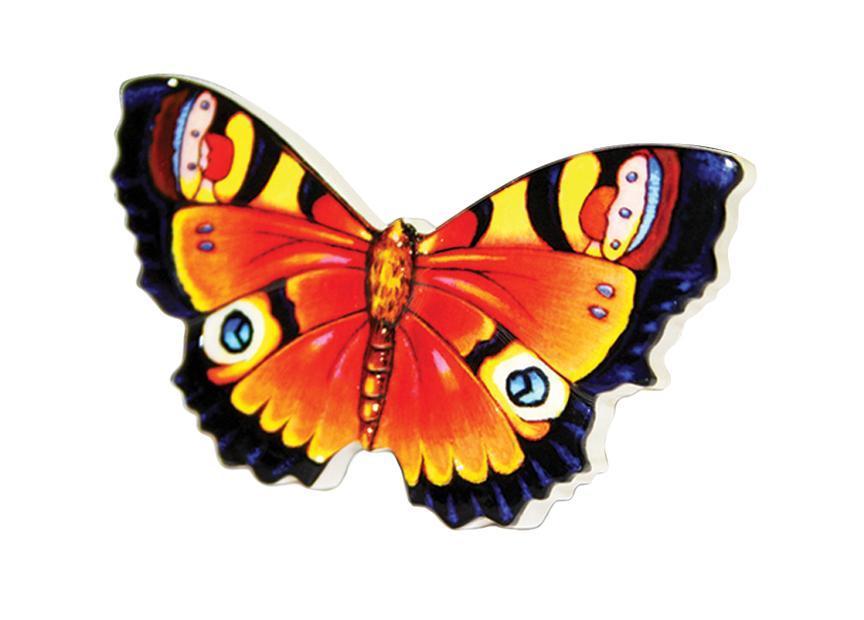 Ароматизатор Phantom Butterfly, с ароматом ванили3206Оригинальный ароматизатор Phantom Butterfly нейтрализует посторонние запахи и наполняет воздух приятным свежим ароматом. Предназначен для ароматизации автомобиля, дома или офиса. Ароматизатор выполнен из высококачественного пластика, идентичного керамике, в форме бабочки. Аромат держится до 30 дней. Состав: пластик, ароматическая отдушка. Размер ароматизатора: 6,5 см х 4,5 см х 1,5 см.