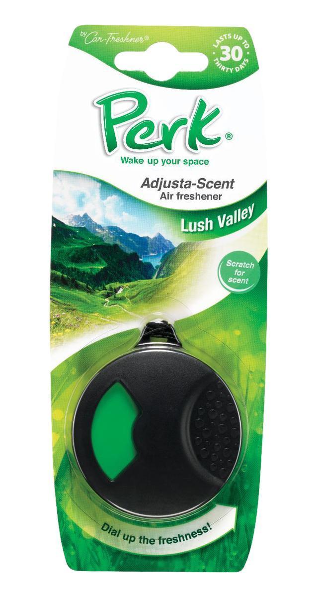 Ароматизатор подвесной с дозатором Perk Долина (Lush Valley)CTK-52107-24Подвесной ароматизатор Perk с дозатором уникален по эффективности действия, насыщенности и стойкости запаха. Подходит для использования в салоне автомобиля, а также в помещениях.