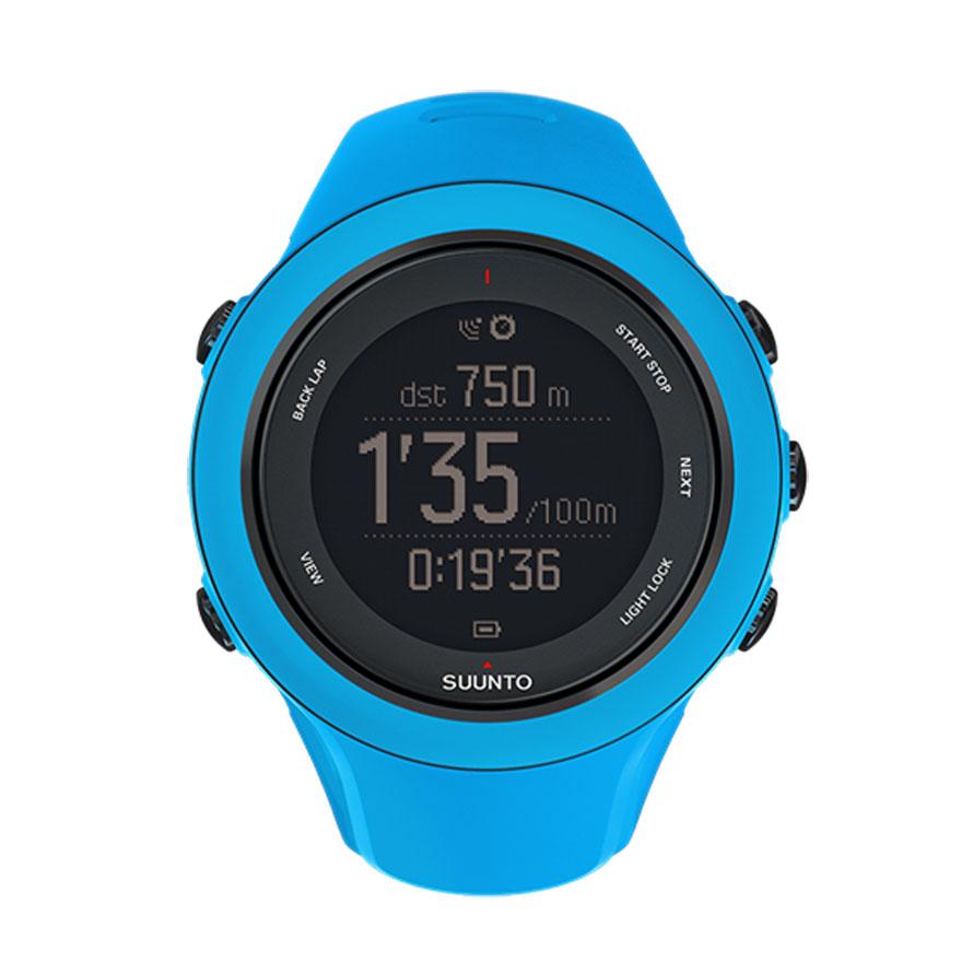 Часы спортивные Suunto Ambit3 Sport, цвет: голубойSM-R7200ZWASERКаждому хочется покорять новые вершины скорости. Полностью выкладываясь на беговом маршруте, на велосипеде или в воде, положитесь на GPS часы Suunto Ambit3 Sport. Они станут вашим бесценным инструментом тренировок, который поможет достичь максимальной спортивной формы. Отслеживайте и анализируйте свои результаты, чтобы прогрессировать. Воспользуйтесь беспроводным подключением часов к iPhone и бесплатным приложением Suunto Movescount App, чтобы изменять настройки часов на ходу, а также работать с собранными данными. Дополняйте, переживайте заново и делитесь опытом — заставьте работать каждый свой Move!Основные функции:Перемещение по маршруту.Время работы от батареи — до 25 часов с включенным модулем GPS.Компас.Высота по данным GPS.Измерение частоты сердцебиения при плавании.Расчет времени восстановления в зависимости от вида деятельности.Измерение скорости, темпа и расстояния.Расчет мощности при езде на велосипеде (технология Bluetooth Smart).Запись нескольких видов спорта в один журнал.Программы тренировок.Расширение функций за счет приложений Suunto App.