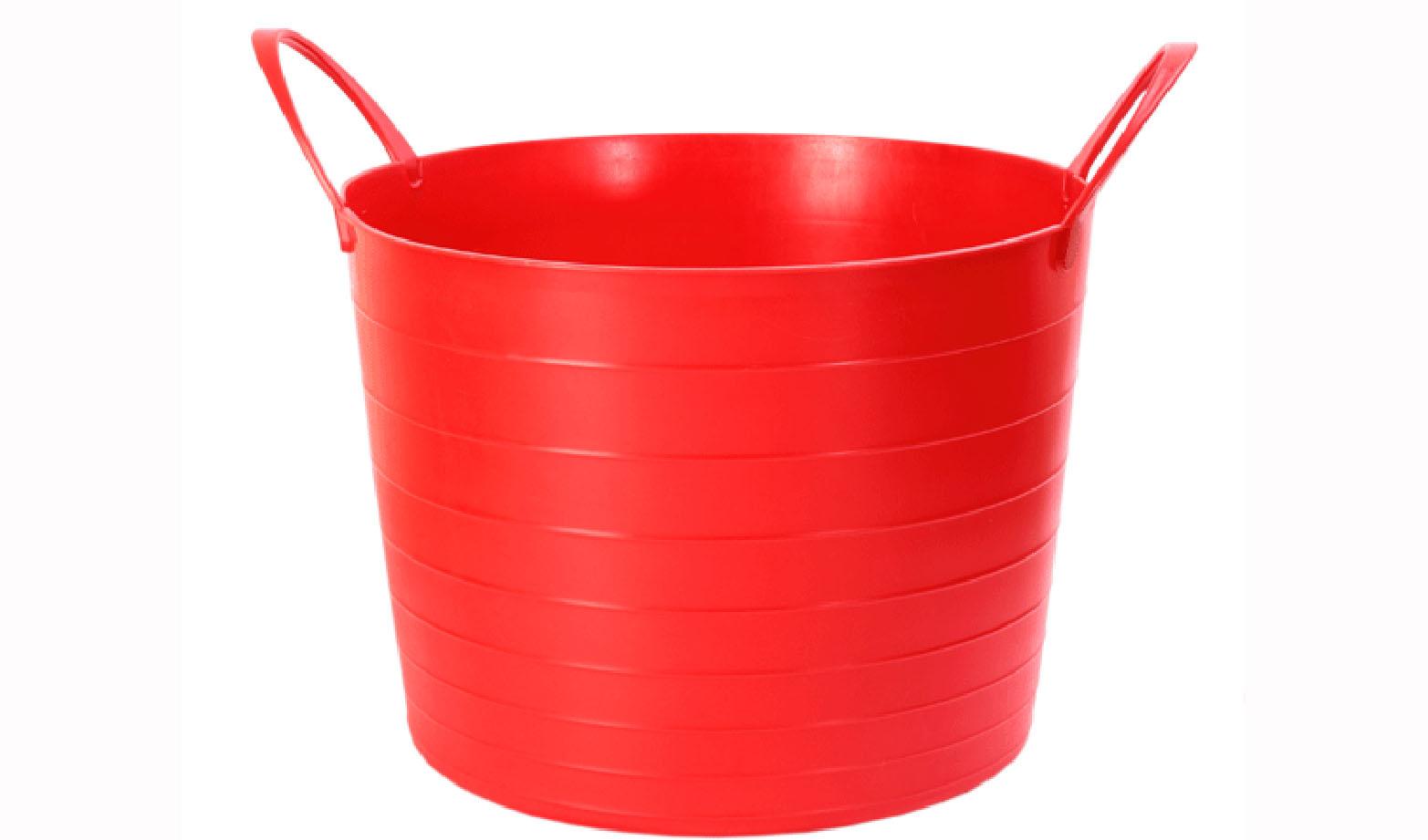 Корзина мягкая Idea, цвет: красный, 27 лZ-0307Мягкая корзина Idea изготовлена из гибкого пластика, оснащена двумя удобными ручками. Внутренняя поверхность имеет отметки литража. Такой корзинке можно найти множество применений в быту: она подойдет для строительства, для сбора фруктов, овощей и грибов, для хранения бытовых предметов. Такая корзина пригодится в любом хозяйстве.