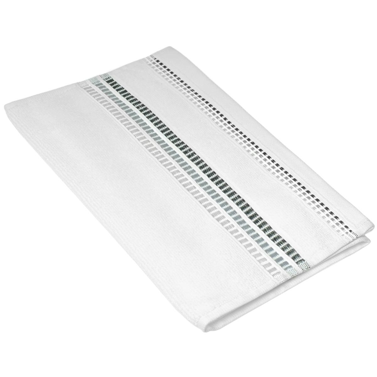 Полотенце махровое Coronet Пиано, цвет: белый, 30 см х 50 см531-401Махровое полотенце Coronet Пиано, изготовленное из натурального хлопка, подарит массу положительных эмоций и приятных ощущений. Полотенце отличается нежностью и мягкостью материала, утонченным дизайном и превосходным качеством. Оно прекрасно впитывает влагу, быстро сохнет и не теряет своих свойств после многократных стирок. Махровое полотенце Coronet Пиано станет достойным выбором для вас и приятным подарком для ваших близких. Мягкость и высокое качество материала, из которого изготовлены полотенца не оставит вас равнодушными.
