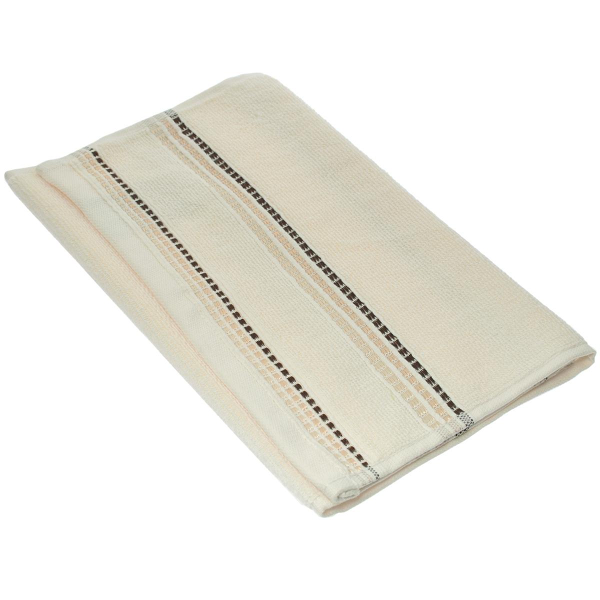 Полотенце махровое Coronet Пиано, цвет: молочный, 30 см х 50 смБ-МП-2020-08-08Махровое полотенце Coronet Пиано, изготовленное из натурального хлопка, подарит массу положительных эмоций и приятных ощущений. Полотенце отличается нежностью и мягкостью материала, утонченным дизайном и превосходным качеством. Оно прекрасно впитывает влагу, быстро сохнет и не теряет своих свойств после многократных стирок. Махровое полотенце Coronet Пиано станет достойным выбором для вас и приятным подарком для ваших близких. Мягкость и высокое качество материала, из которого изготовлены полотенца не оставит вас равнодушными.