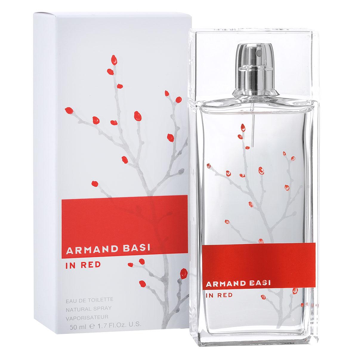 Armand Basi Туалетная вода In Red, женская, 50 млSC-FM20101До сих пор марка Armand Basi использовала только черный и белый цвет. Теперь используются и яркие оттенки. Средиземноморское солнце озаряет мир ярким светом - и в концепции Armand Basi In Red появляется красный цвет. Аромат Armand Basi In Red адресован женщине нашего времени: уверенной, подтверждающей свое право на индивидуальность, способной выразить свои чувства и эмоции - женщине нежной, но в то же время сильной и полной страсти.Открывают аромат ноты свежести цитрусовых, мандарина и бергамота в сочетании с пряными нотами имбиря и кардамона. Они являются прелюдией к цветочному сердцу аромата - комбинации оттенков розы, ландыша, жасмина и листьев фиалки. Благородный характер аромата гармонирует с чувственностью и богатством базовых древесных нот и белого мускуса.Классификация аромата: цветочный.Пирамида аромата:Верхние ноты: мандарин, имбирь, бергамот, кардамон.Ноты сердца: жасмин, листья фиалки, роза, ландыш.Ноты шлейфа: дубовый мох, древесные ноты, мускус.Ключевые словаСтрастный, чувственный, благородный!Туалетная вода - один из самых популярных видов парфюмерной продукции. Туалетная вода содержит 4-10%парфюмерного экстракта. Главные достоинства данного типа продукции заключаются в доступной цене, разнообразии форматов (как правило, 30, 50, 75, 100 мл), удобстве использования (чаще всего - спрей). Идеальна для дневного использования.Товар сертифицирован.