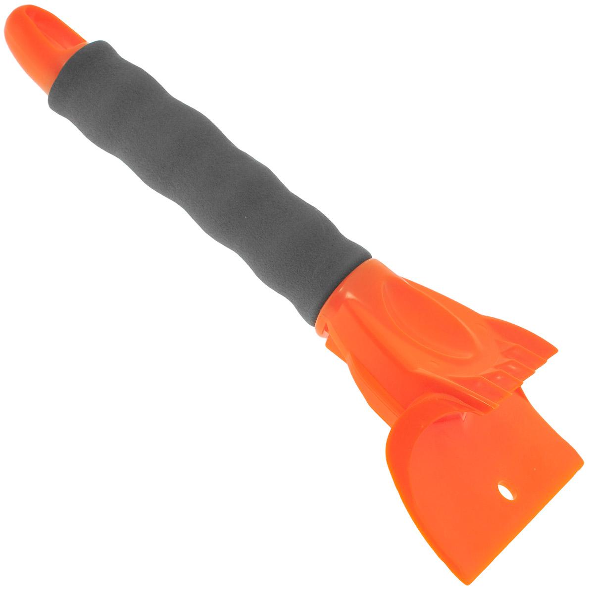 Скребок Airline, с двойной рабочей поверхностью, 25 смAB-P-05Скребок Airline предназначен для удаления льда. Имеет две рабочие поверхности, а также удобную мягкую, эргономичную рукоятку. Скребок дополнительно оснащен выемкой для большого пальца, что позволяет добиться большего эффекта. Изготовлен из морозостойкого пластика.