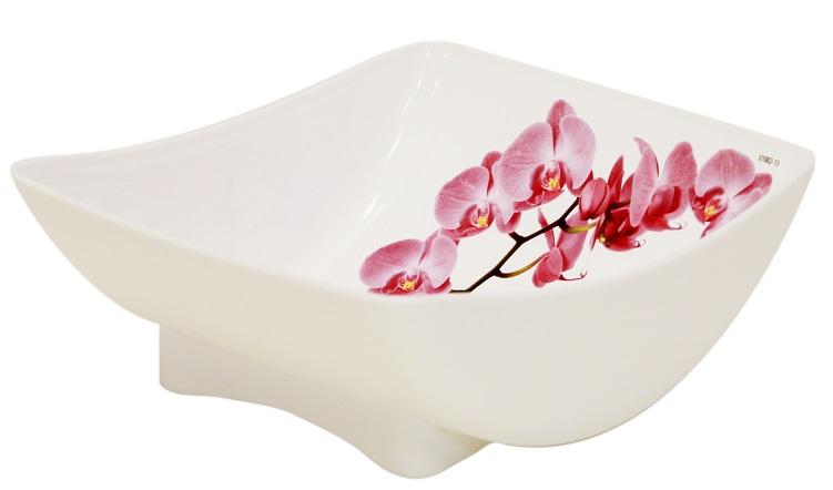 Салатник Idea Орхидея, 450 млМ 1332Салатник Idea Орхидея изготовлен из высококачественного пластика и идеально подходит для сервировки стола. Такой салатник не только украсит ваш кухонный стол и подчеркнет прекрасный вкус хозяйки, но и станет отличным подарком.