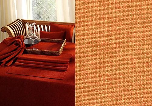 Скатерть Schaefer, прямоугольная, цвет: оранжевый, 150x 200 см. 4129790009Великолепная скатерть Schaefer, выполненная из полиэстера, органично впишется в интерьер любого помещения, а оригинальный дизайн удовлетворит даже самый изысканный вкус. Изделие легко стирать и гладить, не требует специального ухода.Это текстильное изделие станет удобным и оригинальным украшением вашего дома!Изысканный текстиль от немецкой компании Schaefer - это красота, стиль и уют в вашем доме. Дарите себе и близким красоту каждый день!